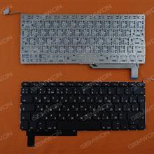 APPLE Macbook Pro A1286 BLACK(without Backlit) RU N/A Laptop Keyboard (OEM-A)