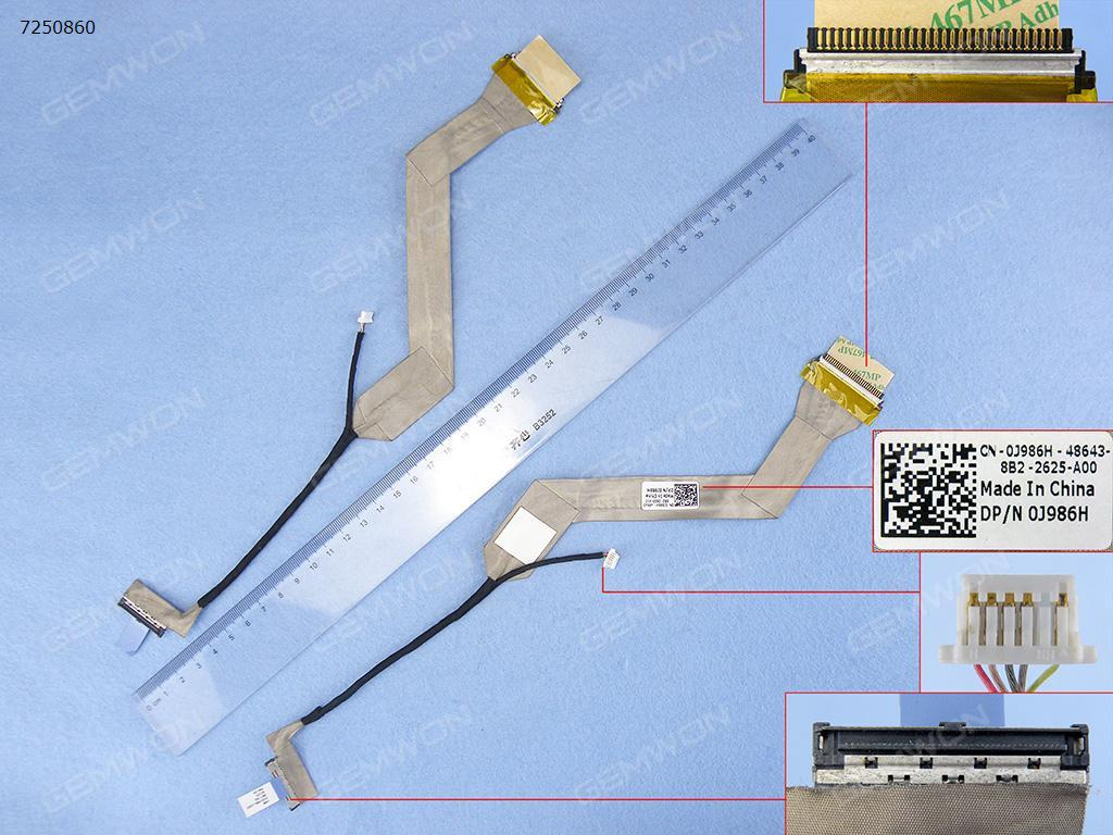 DELL Vostro A840 A860,ORG LCD/LED Cable DD0VM9LC003