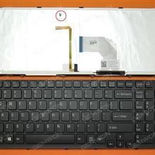 SONY SVE17 BLACK FRAME BLACK(Backlit,For Win8) US 149150811US Laptop Keyboard (OEM-B)
