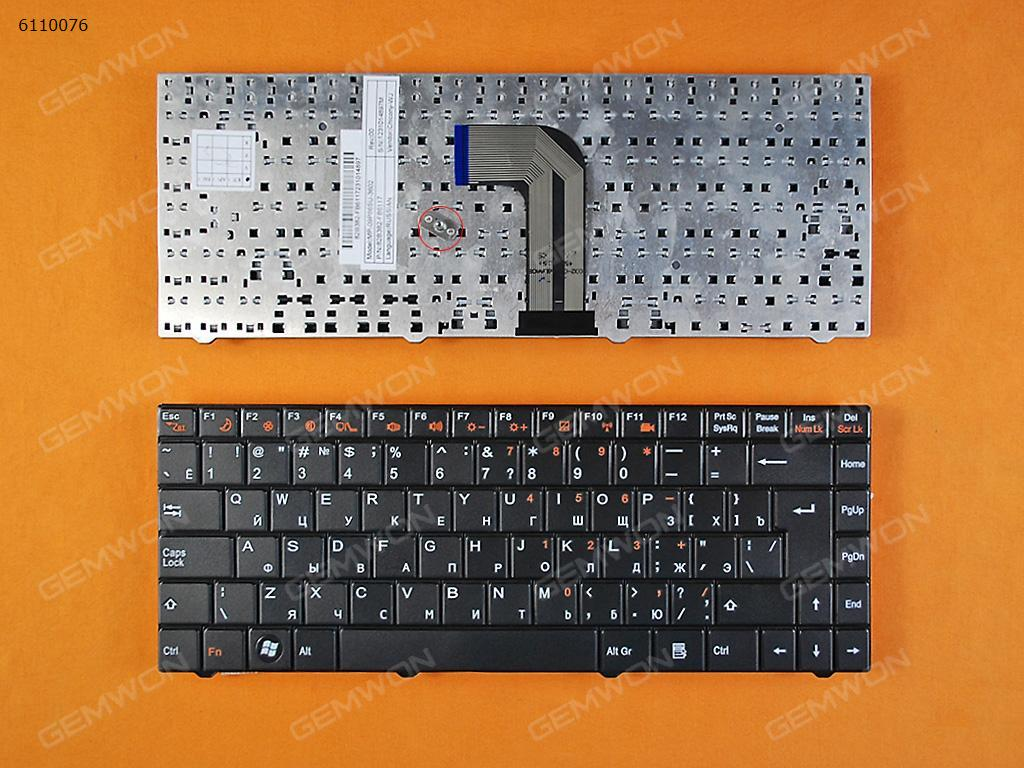 ECS MB40 BLACK RU MP-09P86SU-3602 Laptop Keyboard (OEM-B)