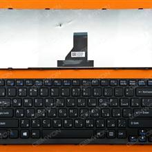 SONY SVE14 BLACK FRAME BLACK(For Win8) RU 9Z.N6BSQ.M0R SDMSQ 149181111RU Laptop Keyboard (OEM-B)