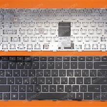 HP Pavilion DM4-1000 DV5-2000 Series BLACK FRAME BLACK(For Backlit version) RU HT5UV 662109-001 9Z.N4FUV.501 6037B0064201 Laptop Keyboard (OEM-B)