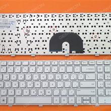 HP DV6-6000 SILVER FRAME SILVER AR V122630BS1 90.4RH07.U0A 665938-171 Laptop Keyboard (OEM-B)