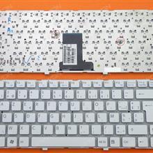 SONY VPC-EA WHITE(Without FRAME) BE V081678F 148792691 Laptop Keyboard (OEM-B)