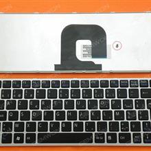 SONY VPC-YA VPC-YB SILVER FRAME BLACK BE 9Z.N5USW.01A SC0SW A1807422A Laptop Keyboard (OEM-B)