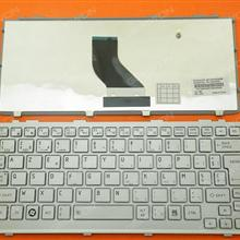 TOSHIBA NB305 Series SILVER BE MP-09K56B06698 Laptop Keyboard (OEM-B)