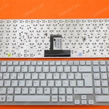 SONY VPC-EB WHITE(Without FRAME,Without foil) TR 148793531 550102M45-203-G V111678B Laptop Keyboard (OEM-B)