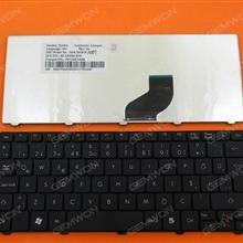 GATEWAY LT21/ACER ONE 532H 521 D255 BLACK(old version) TR 9Z.N3K82.10T AS10T 9Z.N2M82.B1K PK130ET1B26 Laptop Keyboard (OEM-B)