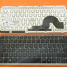HP Pavilion DM3-1000 GRAY FRAME GLOSSY BE HPMH-573148-A41 MP-09C96B06E453 Laptop Keyboard (OEM-B)
