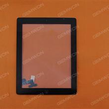 Touch Screen For iPad 2,BLACK OEM TP+ICIPAD2