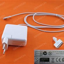 Apple Macbook 16.5V 3.65A 60W Connector Shape T For A1502 (High copy) MS2 Plug:EU Laptop Adapter APPLE MACBOOK 60W