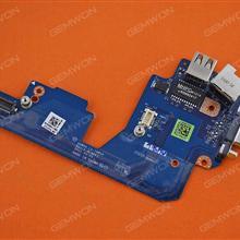 USB 2.0 VGA Audio Board And NIC Connector For DELL Latitude E5430(Pulled) Board 4M3HJ