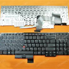ThinkPad E530   BLACK(With Point stick) US N/A Laptop Keyboard ( )