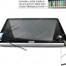 Cover A +B+LCD Complete For DELL 9530 15.6''Inch Silver  1920×1080DELL 9530