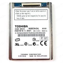 HDD Toshiba MK8034GAL 80GB 1.8'' Board N/A