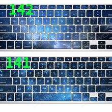 Decal Keyboard Skin Sticker for MacBook 11air Big Enter(Remark layout and picture number when buy) Sticker macbook 11air