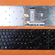 TOSHIBA P50 GLOSSY (Without FRAME,Backlit,For Win8 ) UI N/A Laptop Keyboard (OEM-A)