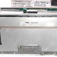 LCD/LED for  Apple MC511 27''  LM270WQ1 (SD)(C2) 95%new LCD/LED APPLE IMAC A1312 27''