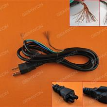 US Plug AC Power Cord Cable For Laptop Adapter 1.8M 0.75m² Material: Copper(Good quality) Power Cord US