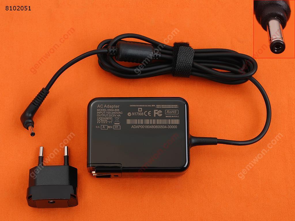 LENOVO 5V4A 20W ideapad 100S-11IBY MIIX 310-10(Wall Charger Portable Power Adapter)Plug:EU Laptop Adapter 5V 4A 20W 3.5 1.35