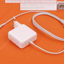 Apple Macbook 14.5V 3.1A 45W Connector Shape L For A1304 A1369 (High Copy) Plug:EU Laptop Adapter APPLE MACBOOK 45W