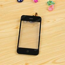 Mid frame Bezel & Touch Screen Digitizer For iPhone 3GS Black iPhone Touch Screen N/A