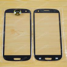 Front Screen Glass Lens for Samsung Galaxy S3(i747 i535 T999 i9300) blue OEM Touch Glass SAMSUNG I9300