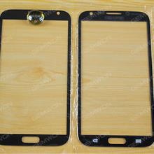 Front Screen Glass Lens for Samsung Galaxy note2(N7100),Black OEM A+ Touch Glass SAMSUNG N7100