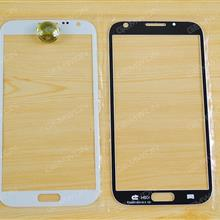 Front Screen Glass Lens for Samsung Galaxy note2(N7100),white OEM Touch Glass SAMSUNG N7100
