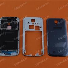 Complete (Upper Frame+Middle Frame+Battery Cover)For SAMSUNG Galaxy S4,BLUE Back Cover SAMSUNG I9500