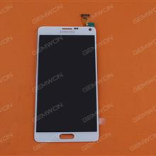 LCD+Touch screen For Samsung Galaxy Note4 (N9100),White original Phone Display Complete SAMSUNG N9100