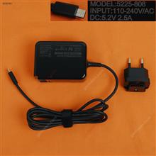 Microsoft 5.2V2.5A 13W surface 3(Wall Charger Portable Power Adapter)Plug:EU Laptop Adapter 5.2V2.5A 13W