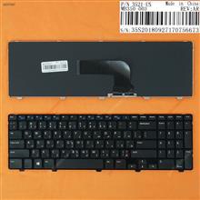 DELL Inspiron 15 3521 15R 5521 2521 GLOSSY FRAME BLACK WIN8 AR N/A Laptop Keyboard ( )