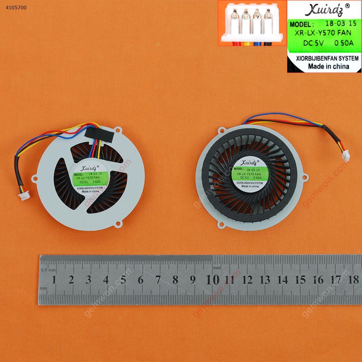 LENOVO Y570 Y570A Y570N Y570G(OEM) Laptop Fan MG60120V1-C060-S99   AD0605HX-TOB