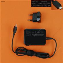 ASUS 12V2A 24W Chromebook C201 C100 C100PA C201PA(Wall Charger Portable Power Adapter)Plug:EU Laptop Adapter 12V 2A 24W
