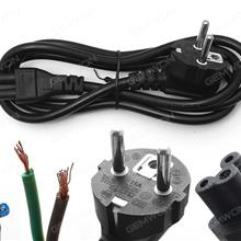 EU Plug AC Power Cord Cable For Laptop Adapter 1.2M 0.75m², Material: Copper(Good quality) Power Cord EU