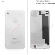 Back Cover For iPhone 4S WHITE Back Cover IPHONE 4S
