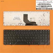 HP ProBook 6560B/EliteBook 8570P 8560P BLACK FRAME BLACK(With Point stick) GR 9Z.N6GSF.D0G Laptop Keyboard (OEM-B)