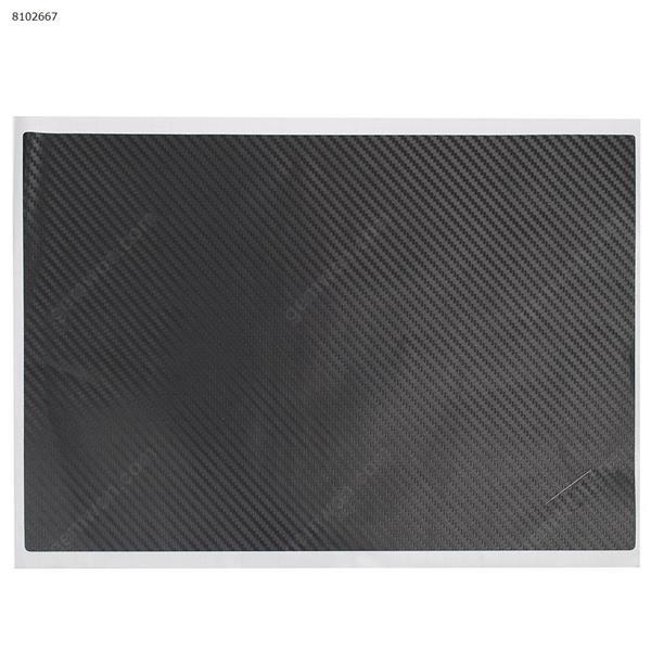Carbon fiber Vinyl Skin Stickers Cover guard For LENOVO X1 CARBON 4TH A cover,black Sticker N/A