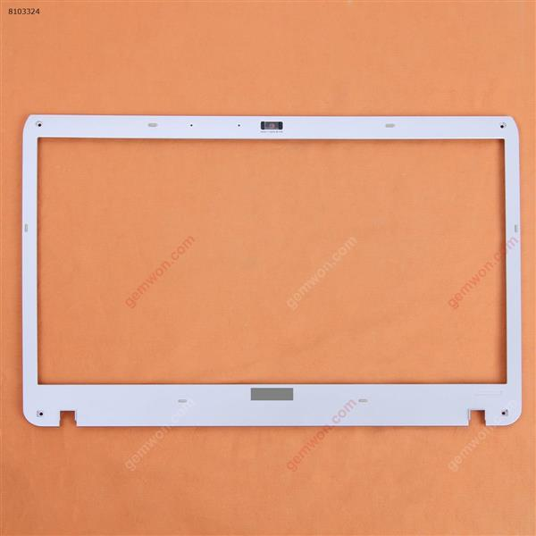 SONY VPC-F11 VPC-F12 VPC-F13 LCD Front Frame Plastic Cover Silver Cover N/A