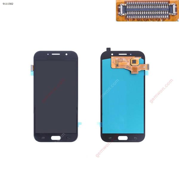 OLED QUALITY LCD FOR SAMSUNG Galaxy A7 2017 A720 Display Touch Screen Replacement For  SAMSUNG Galaxy A7 2017 A720 A720F A720M Mobile Phone LCDs from Cellphones BLACK OEM Phone Display Complete SAMSUNG GALAXY A7 2017 A720