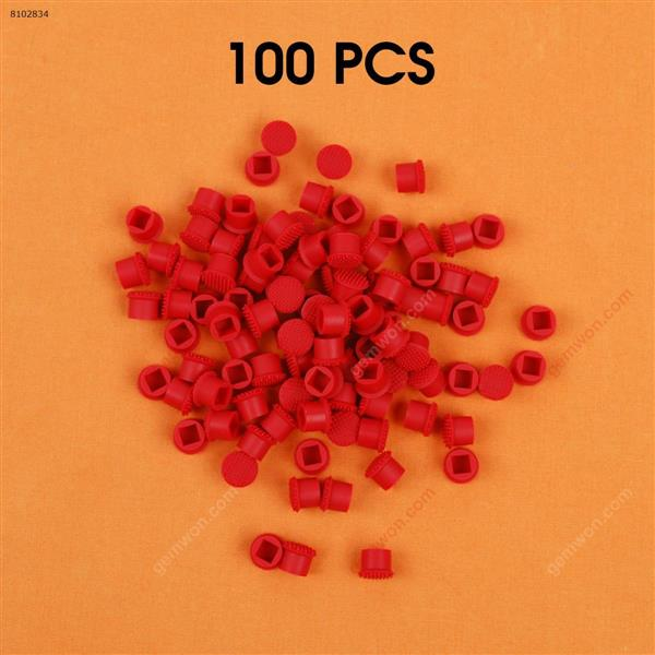 100Pcs New Lenovo X60 X61 T40 X40 X31 T60 T61 R61 T400 T500 X200 X201 Laptop keyboard Mouse Pointing Stick Cap,Red Computer Accessories N/A