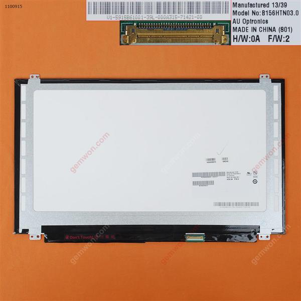 LCD/LED for 15.6''  B156HTN03   Matte 30Pins bottom right 1920x1080 LCD/LED B156HTN03 NT156FHM-N41 N156HCE-EBA
