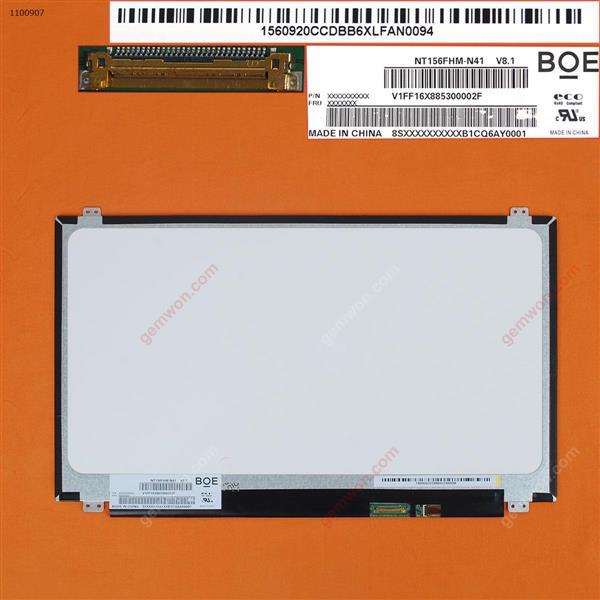 LCD/LED for N156HGA-EAL 1920x1080 FHD 30pin  15,6