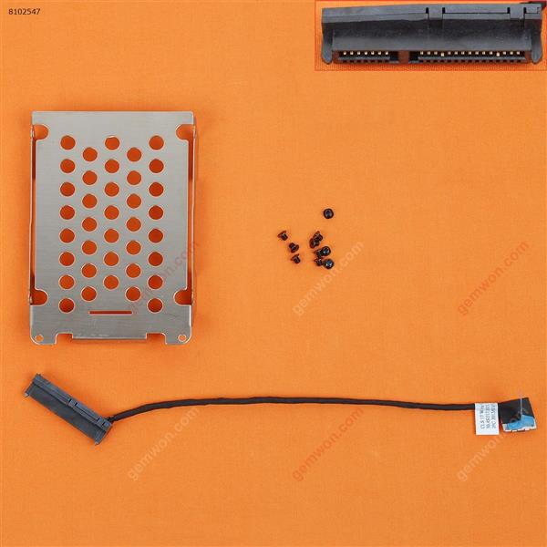 Hard Drive Disk Tray HDD Caddy & Connector Cable For HP Pavilion DV7-7000 DV7T-7000(Long Cable) Cover 50.4SU17.021