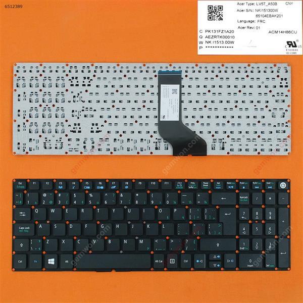 Acer Aspire E5-722 E5-772 V3-574G E5-573T E5-573 E5-573G E5-573T E5-532G BLACK WIN8 CA/CF N/A Laptop Keyboard (OEM-B)