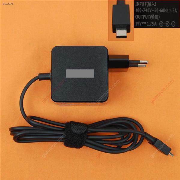 ASUS 19V 1.75A 33W X205T X205TA( Quality : A+ ) Plug:EU Laptop Adapter 19V 1.75A 33W