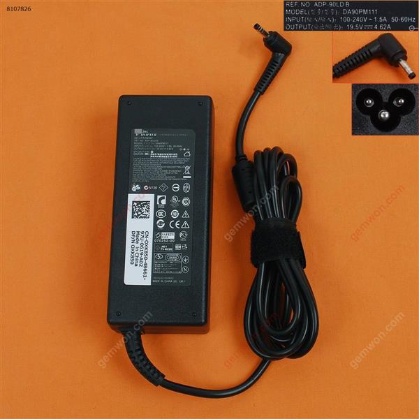 Dell 19.5V 4.62A 90W Φ4.0x1.7mm ( Quality : A+ ) Laptop Adapter 19.5V 4.62A 90W Φ4.0X1.7MM