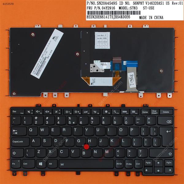 Thinkpad Yoga S1 S240(Backlit,Big Enter,For Win8) UI N/A Laptop Keyboard (OEM-B)