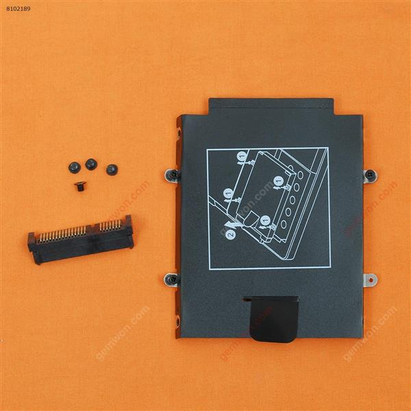 HP EliteBook Folio 9470M SATA Hard Drive Caddy Bracket + Connector Cover N/A
